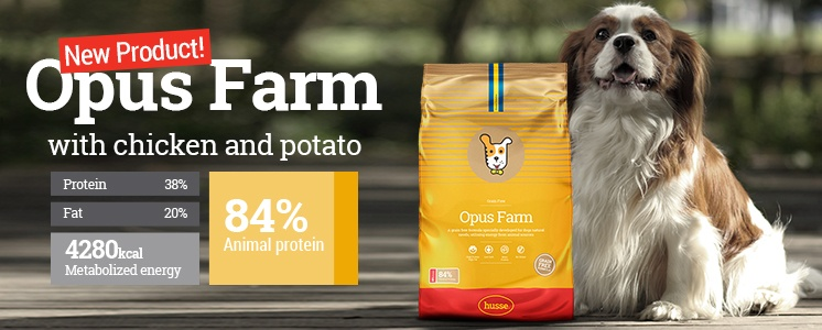 Opus farm, Grain free, New product